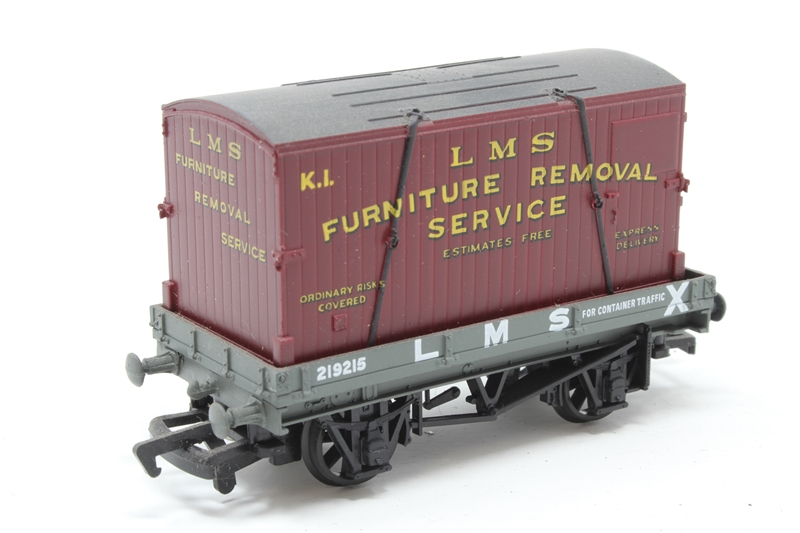Hattonscouk Mainline 48PO48 48 Plank Wagon In LMS Livery With Delectable Furniture Removal Services Model