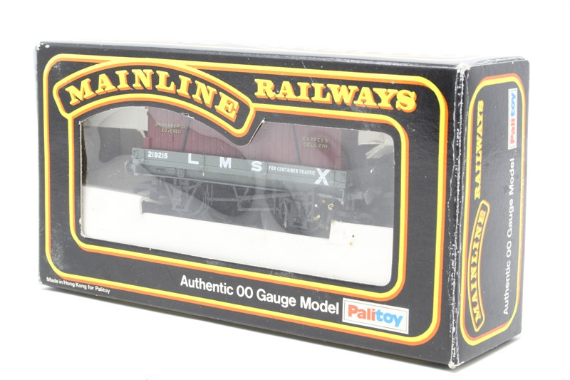 Hattonscouk Mainline 48PO48 48 Plank Wagon In LMS Livery With Simple Furniture Removal Services Model