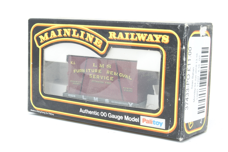 Hattonscouk Mainline 48PO 48 Plank Wagon In LMS Livery With Inspiration Furniture Removal Services Model