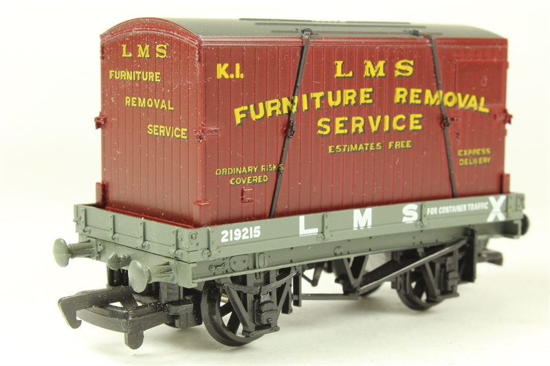 Furniture Removal Services : Hattons mainline plank wagon in lms livery