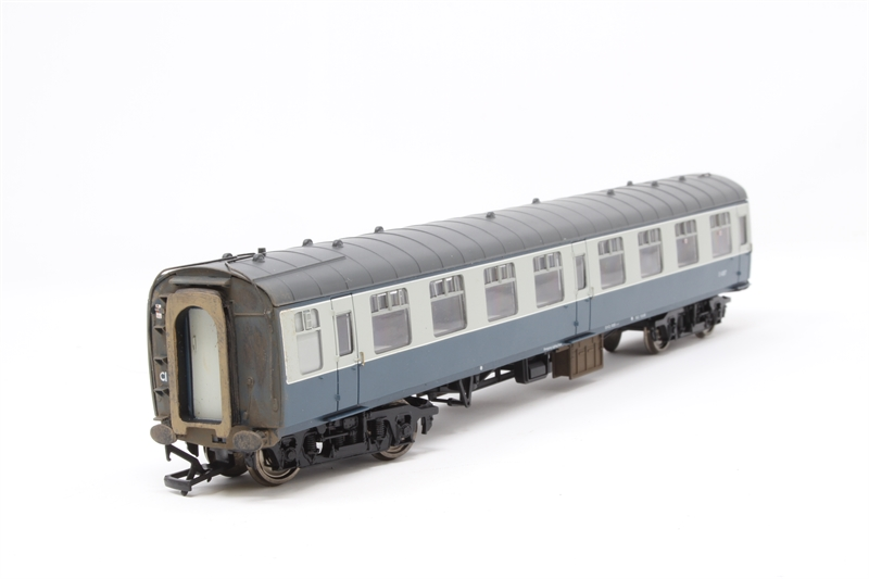 39-050D Bachmann OO BR Mk1 SO Second Open Coach Blue /& Grey Weathered