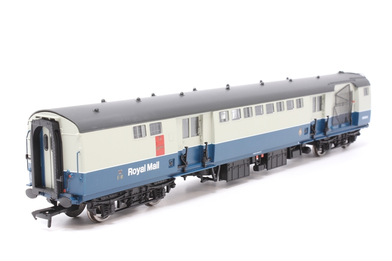 39-426 Bachmann OO Gauge BR MK1 POS Post Office Sorting Van BR Blue /& Grey Nets