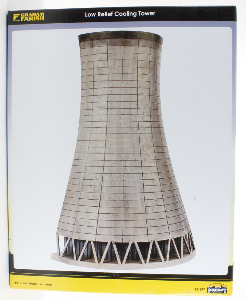 Low Relief Cooling Tower (105x210x280mm)