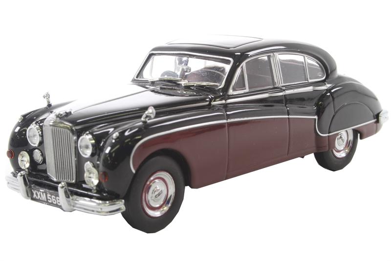 Oxford Diecast 43jag9004 Jaguar Mkix Black