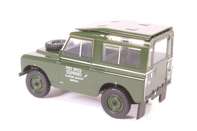 Oxford Diecast 76LR2S001 Land Rover Series II SWB Hard Back Royal Mail OO Gauge