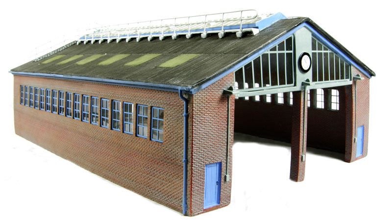Bachmann Branchline Modern servicing depot - Scenecraft range. OO Gauge (176 Scale) £84.96 6 in stock  sc 1 st  Hattons & hattons.co.uk - OO Gauge (1:76 Scale) Buildings - railways Products