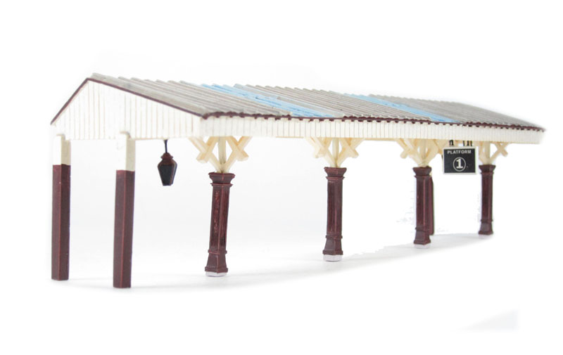 44-089 Sheffield Park Station Canopy £34  sc 1 st  Hattons & hattons.co.uk - Bachmann Branchline 44-089 Sheffield Park Station ...