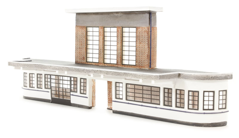 hattons co uk bachmann branchline 44 220 low relief deco station 255 x 56 x 97mm