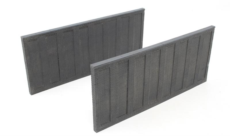 44-590 Scenecraft OO Gauge Tall Retaining Walls