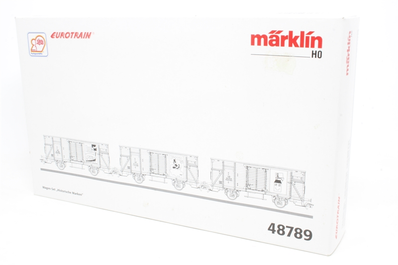 hattons co uk - Marklin 48789-PO Pack of three Covered Goods
