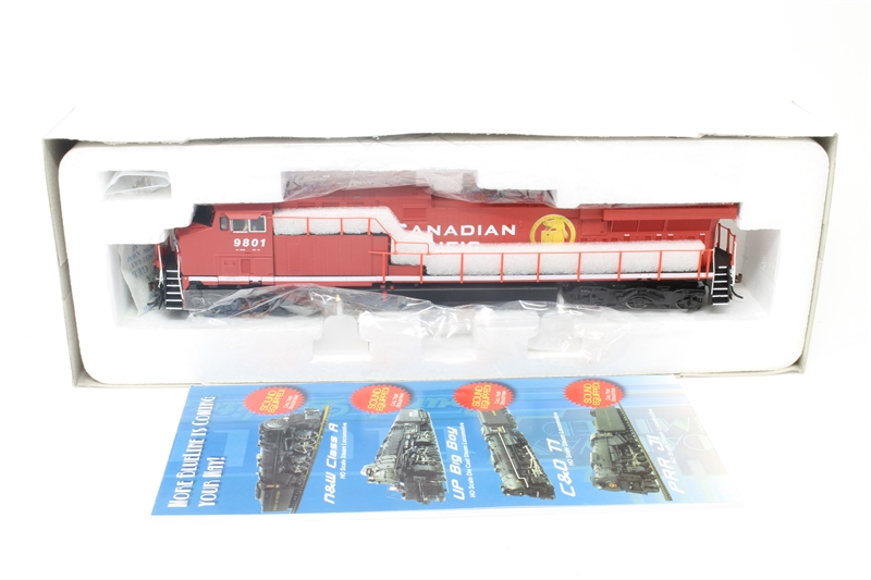 GE AC6000CW #9801 of the Canadian Pacific Railroad ( sound on board) -  Pre-owned - DCC fitted to work withSound