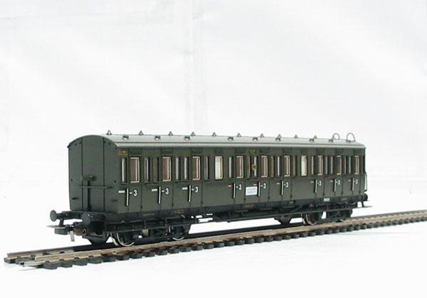 hattons co uk piko 53000 class c4 3rd class coach of the german53000 class c4 3rd class coach of the german drg in green livery epoch ii (
