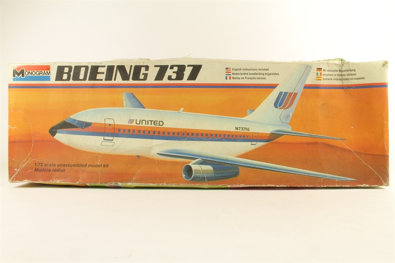 hattons co uk - Monogram 5415Mono-U Boeing 737 - Pre-owned