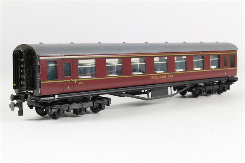 Trix 581trix ln dining car in br maroon for Cannon motor company preowned
