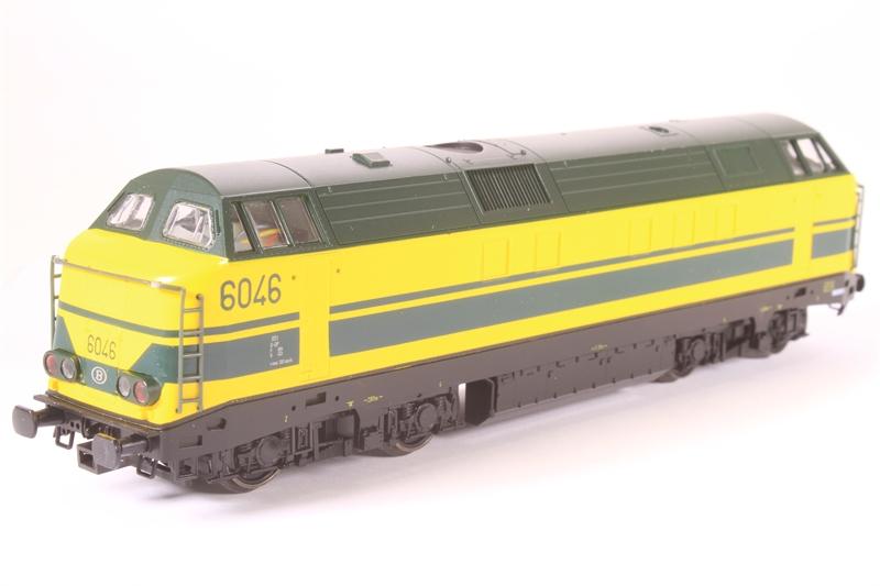 6046 LN Type 60 Diesel Locomotive Of The Belgian SNCB Epoch IV