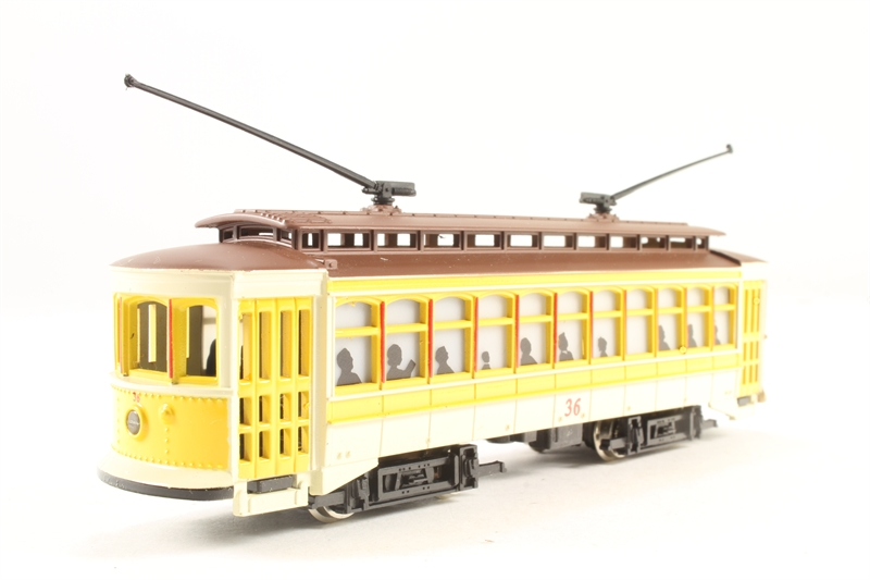 Hattons co uk bachmann usa 61048 u american brill trolley in yellow
