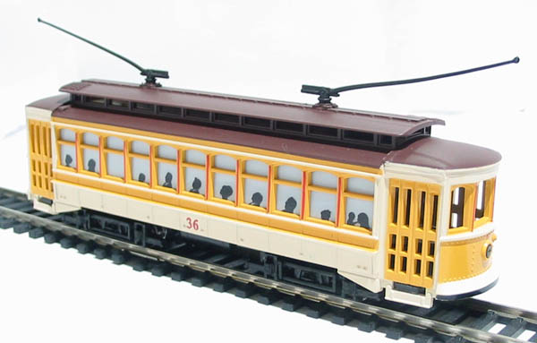 Hattons co uk bachmann usa 61048 american brill trolley in yellow