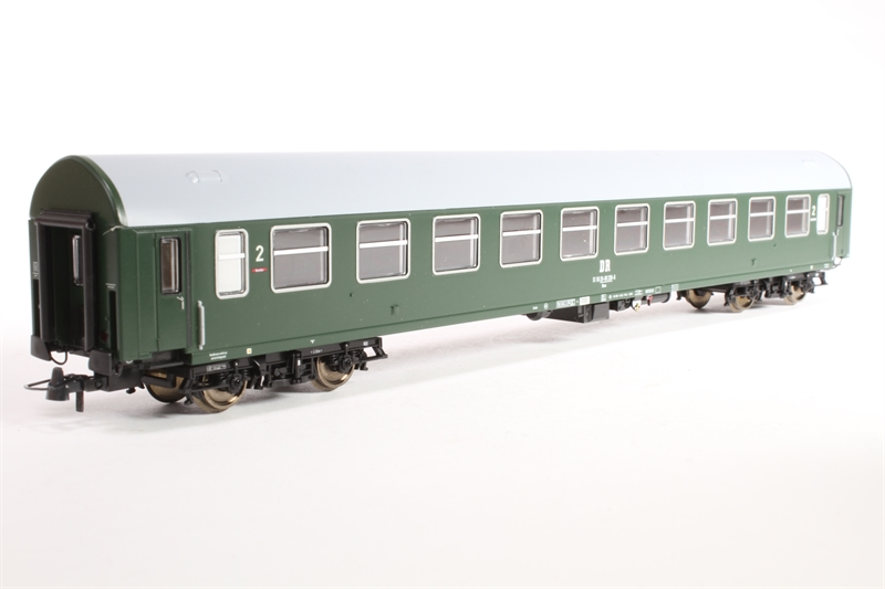 64802-U 2nd Class Passenger Coach of the German DR Epoch IV - Pre-