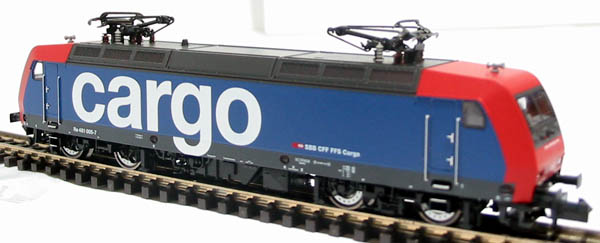 7323 Class 481 Electric loco of the Swiss SBB-Cargo red & blue livery Epoch
