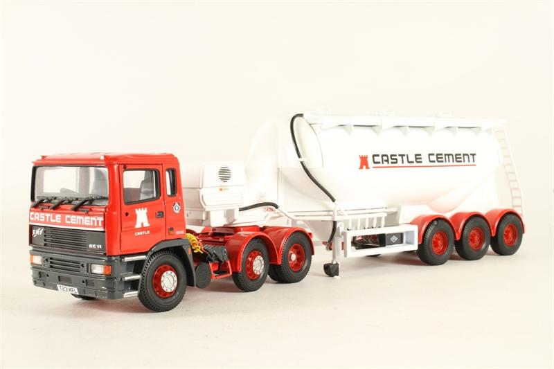 """74903-LN ERF EC Podwer Tanker """"Castle Cement Ltd"""" - Pre-"""