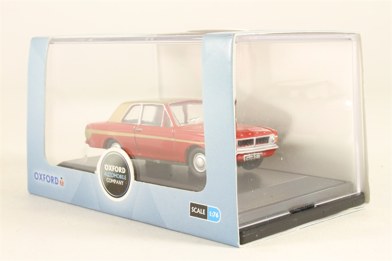 Oxford diecast 76cor2006 ln ford cortina for Cannon motor company preowned