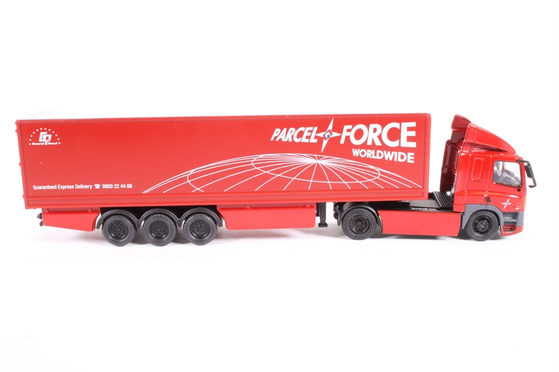 Oxford 1//76 Freight Shipping DAF 85 2 Axle 40ft Box Trailer Parcelforce 76DAF002