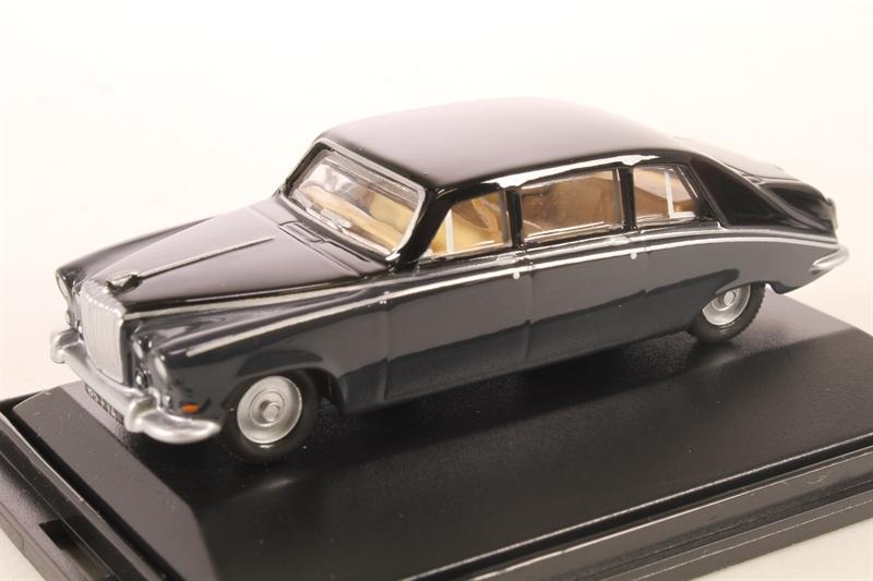 Oxford Daimler DS420 Embassy Black//Carlton Grey Diecast Metal Car 1//76 OO Scale