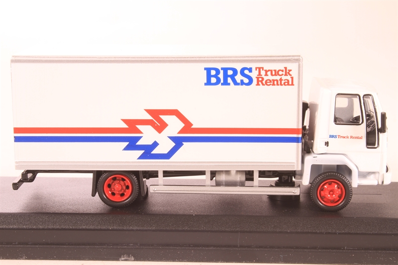 76FCG001 Oxford Diecast 1:76 Scale Ford Cargo Box Van BRS