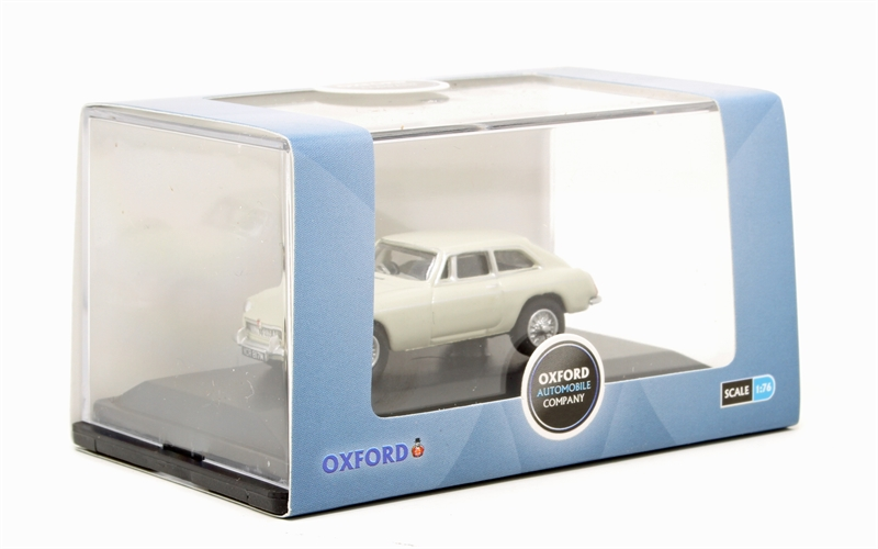 OXFORD DIECAST 76MGBGT003 1:76 OO SCALE MG BGT Glacier White