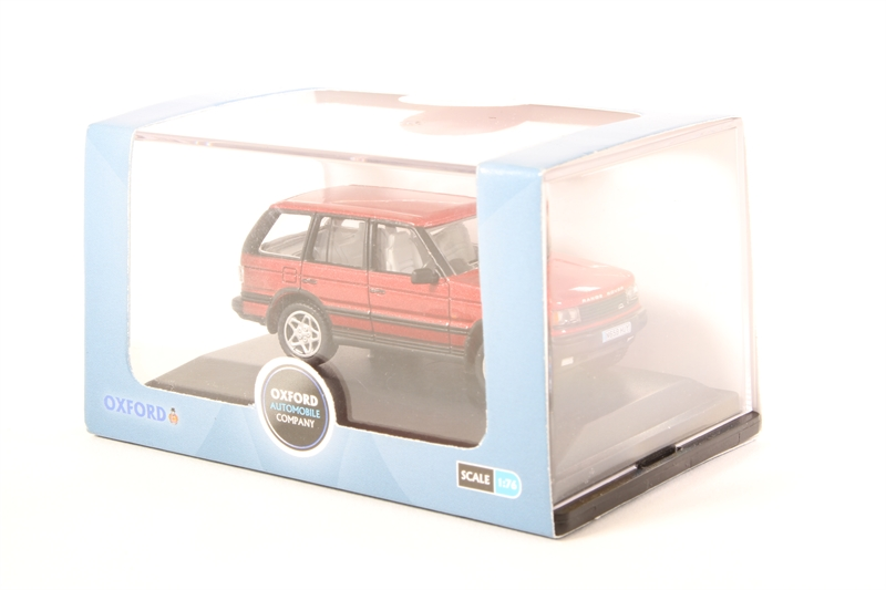 ed7b20aaaf4d 76P38001-PO01 Range Rover P38 Rioja Red - Pre-owned - Like new. Product  Details. Oxford Diecast ...