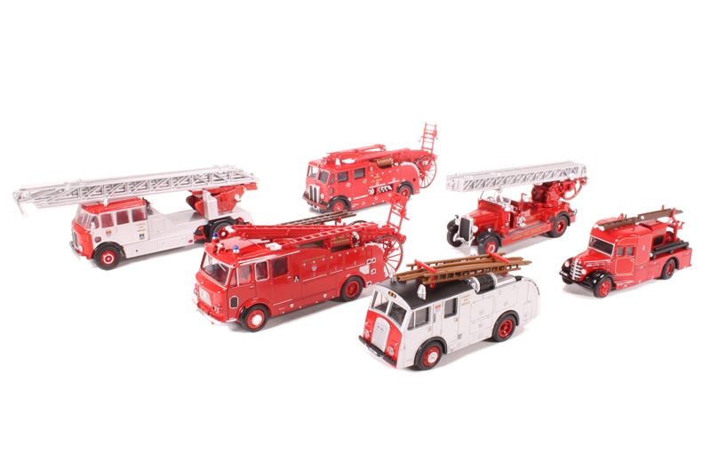 Hattons Co Uk Oxford Diecast 76set31 6 Piece London Fire
