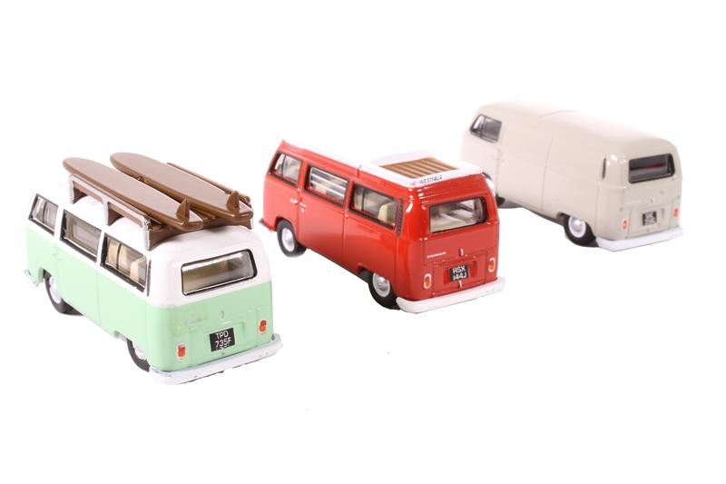 OXFORD DIECAST 76SET35A 1:76 OO SCALE VW Bay Window Set Van//Bus//Camper