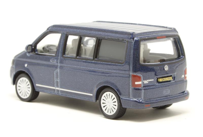 Oxford 76t5c001 00 voitures vw t5 California Metallic Night Blue