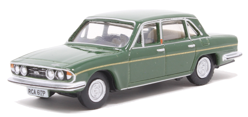 OXFORD DIECAST 76TP005 1:76 OO SCALE Triumph 2500 Russet Brown