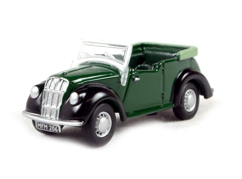76ME002 Oxford Diecast 1:76 Scale Morris 8 Green//Black