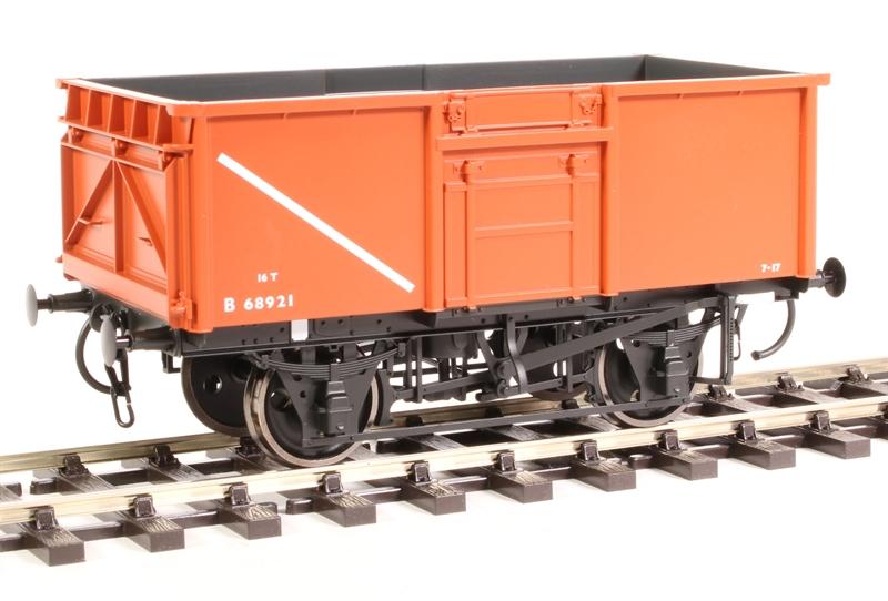Dapol 7F-030-002 16t Steel Mineral Wagon Diagram 108 B68921 BR Bauxite O Gauge