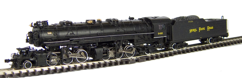 N Scale - Bachmann - 82655 - Engine, Steam, 2-6-6-2 Mallet - Nickel Plate Road - 942