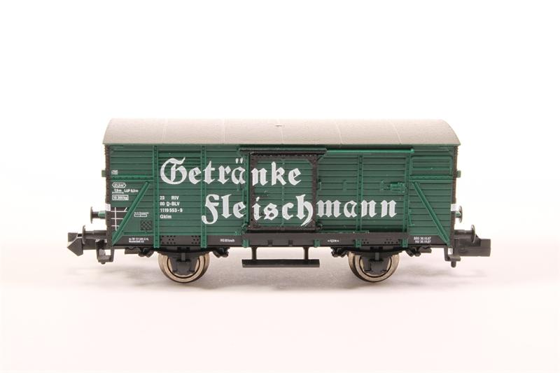 hattons.co.uk - Fleischmann 836303-LN Covered Goods Wagon ...