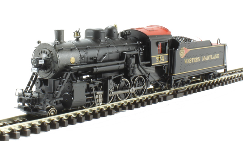 2 8 0 Consolidation Type Locomotives: Bachmann USA 84552 2-8-0 Consolidation
