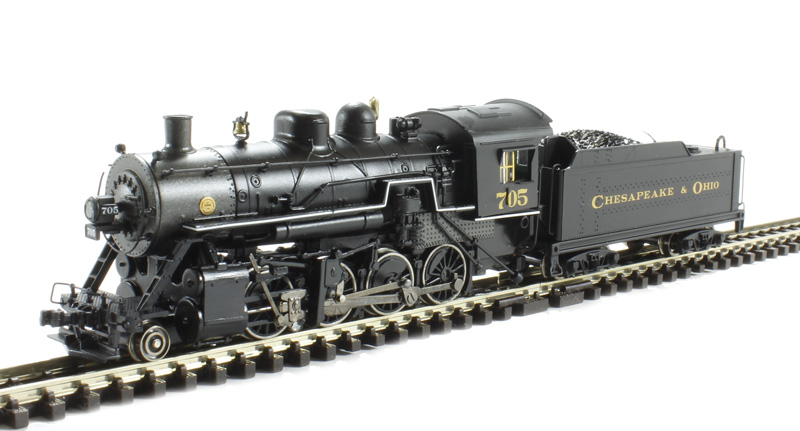 2 8 0 Consolidation Type Locomotives: Bachmann USA 84554 2-8-0 Consolidation