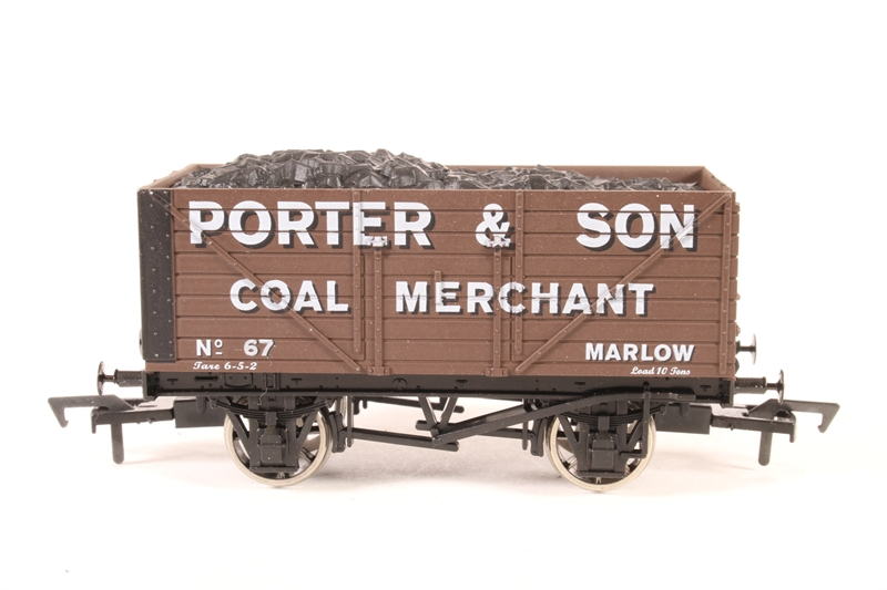 Dapol 87am u 8 plank wagon 39 porter for Porte imparfait