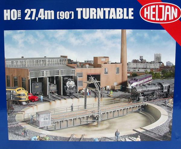 hattons co uk - Heljan 89011 Turntable, motorised, 32 cm