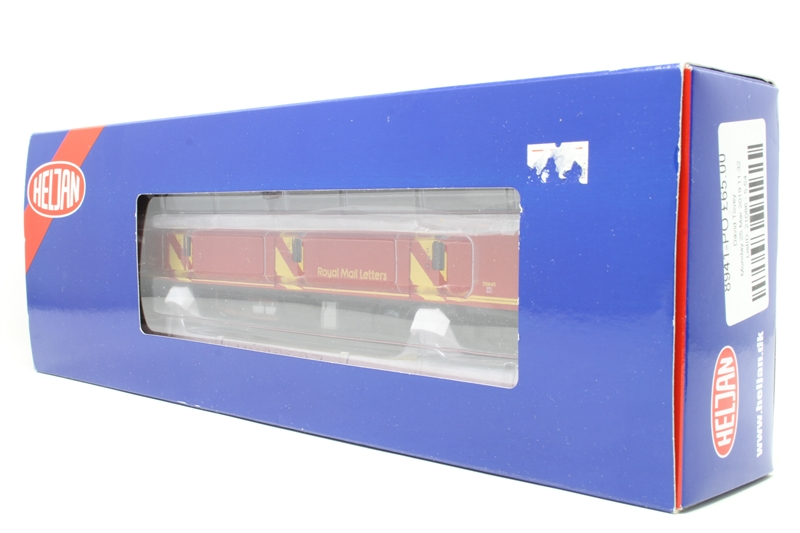 Class 128 parcels DMU 55995 in Royal Mail red with flush fronts - Pre-owned  - DCC fitted, damage to underside detailing and handrails
