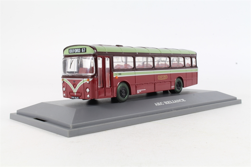 Corgi collectables 97130 u01 aec reliance for City motors pre owned