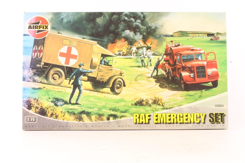 AIRFIX A03304 1//76 RAF Emergency Set