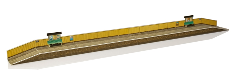 Superquick OO Gauge Station Platforms Card Kit A1 Parts