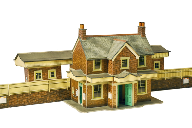 Country Station Building - Card Kit