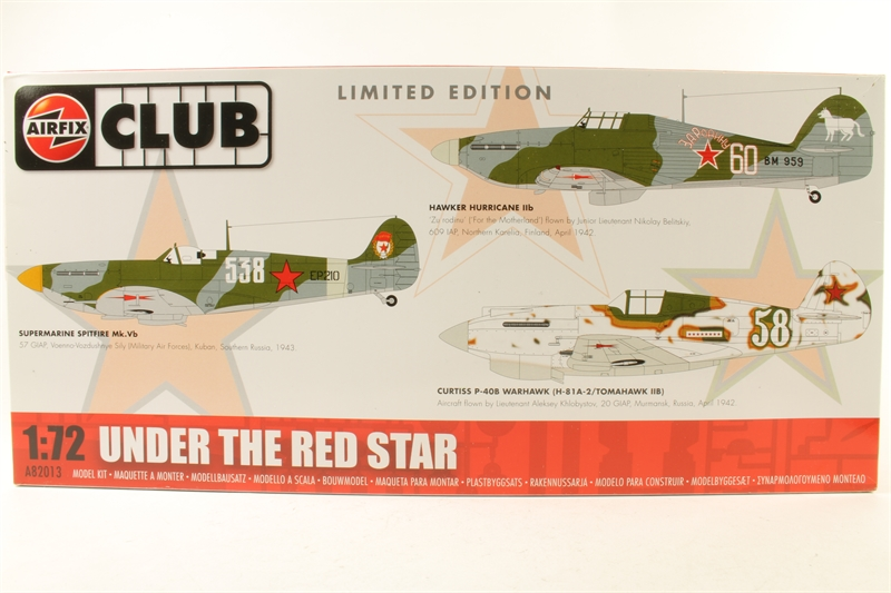 d9d61d0fd20 hattons.co.uk - Airfix A82013-LN01 Under the Red Star - Limited ...