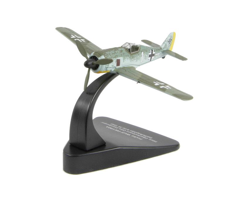 Ac005 Oxford Diecast Focke Wulf 190 1:72 Scale Model Aircraft