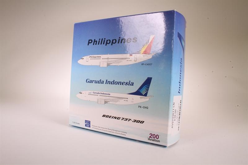 hattons co uk - Aviation 200 AV2733011 B737-300 (Garuda